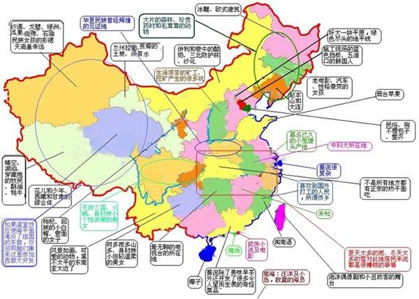 不同地区人民眼中的中国地图——超经典,不看后悔 - 尼古拉·特斯拉 - 丢了良心没有剑的中国佐罗
